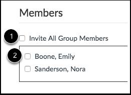 Select Individual Members