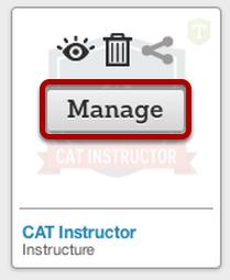 Manage Badge