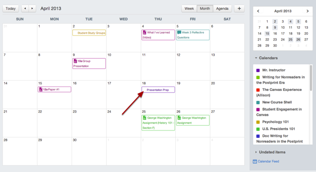 Bekijk Kalender Evenement