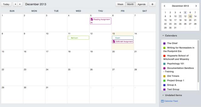 Bekijk Kalendar