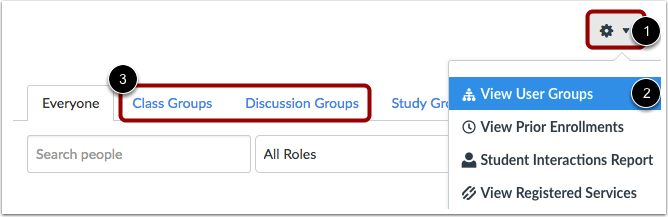Assign in Individual Group