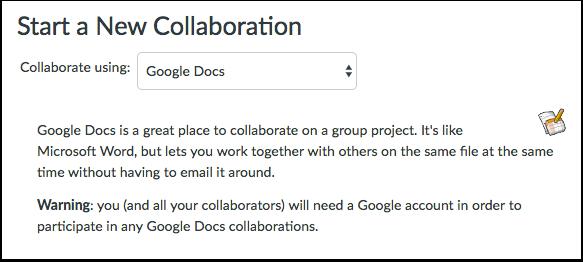 Start a New Collaboration