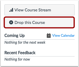 Drop this Course