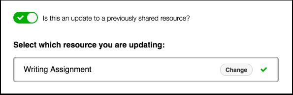 Update Resources