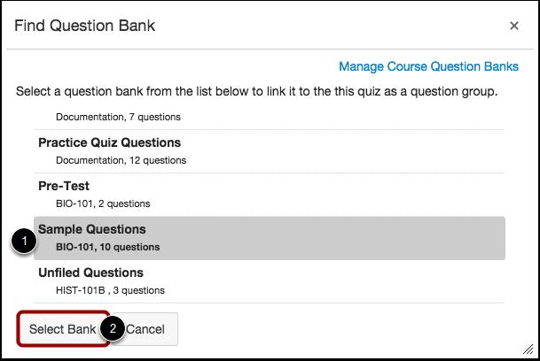 Find spørgsmålsbank