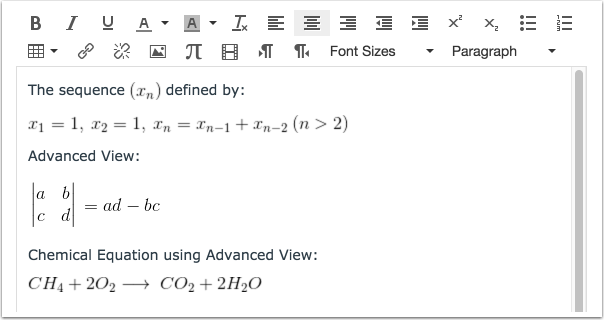 how to add subscript in equation editor