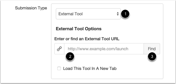 Select External Tool