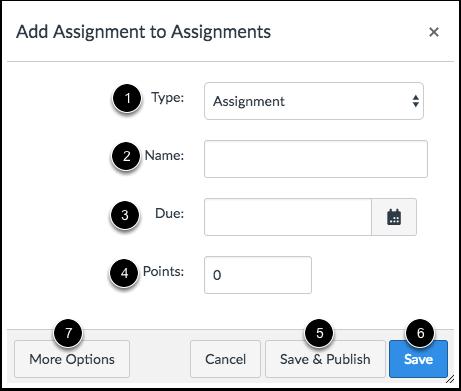 Enter Assignment Shell Details