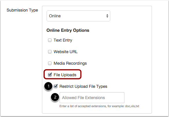 Select File Upload Restriction