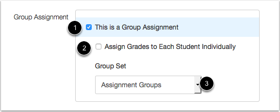Create Group Assignment