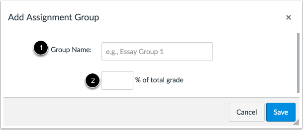 Create Assignment Group