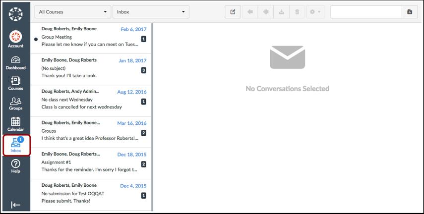 View Inbox