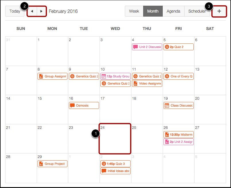 Calendar Repeat : How do i add a repeating event to course calendar