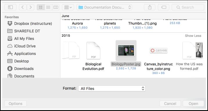 Select File(s)