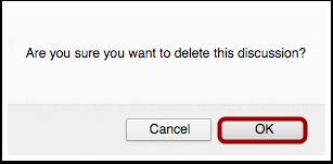 Confirm Deletion