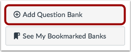 Add Question Bank