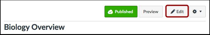 Click Edit Button