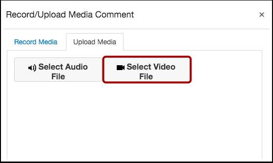 Sélectionner un fichier vidéo