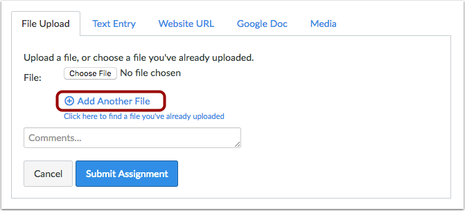 Add Another File