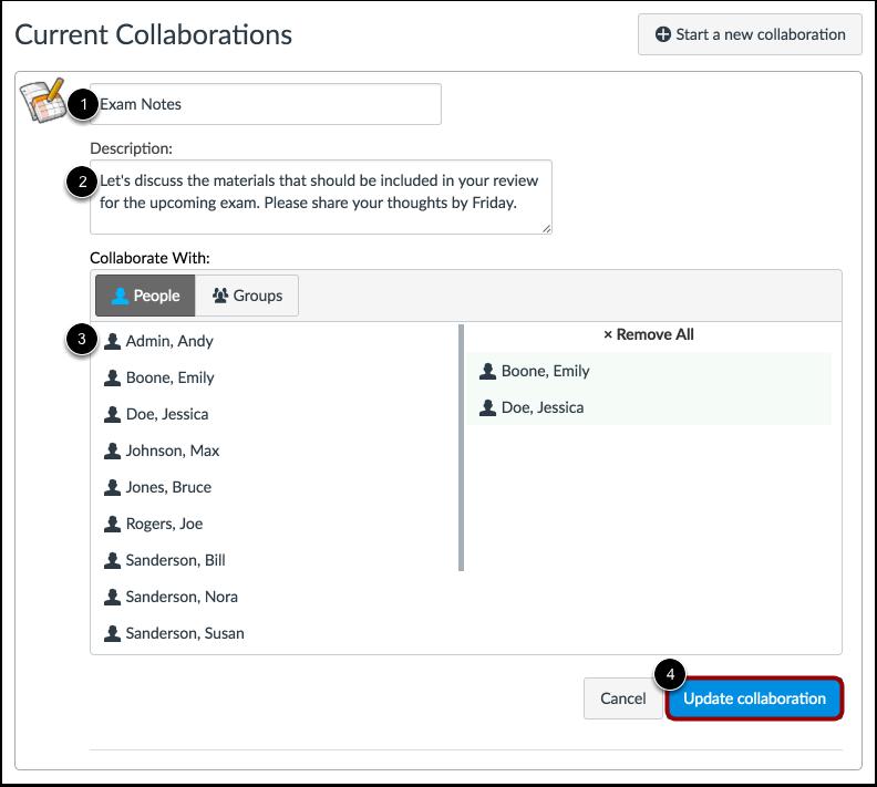 Edit Collaboration
