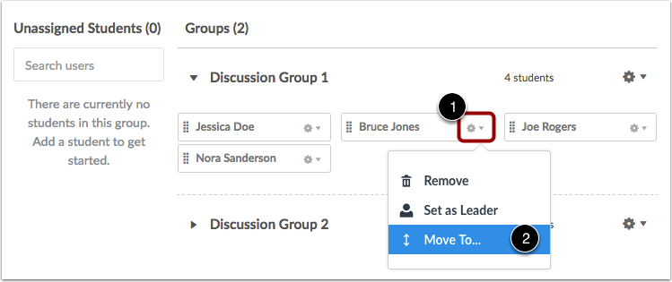 how to move doc to group drive