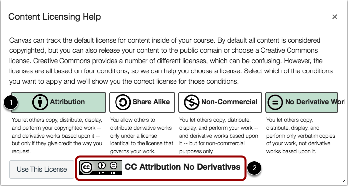 View Content Licensing Help
