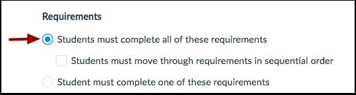 Set Requirement Type