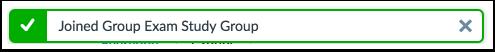 Verify Group Sign Up