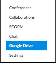 Open Google Drive