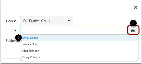 Use Group Roster