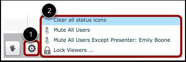 Set User Settings