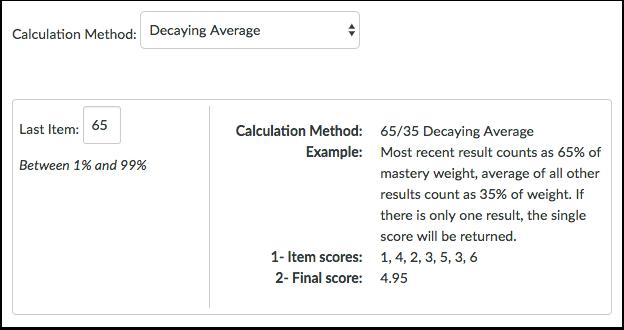 Decaying Average