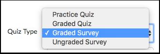 Select Survey Type