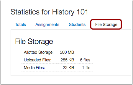 View File Storage