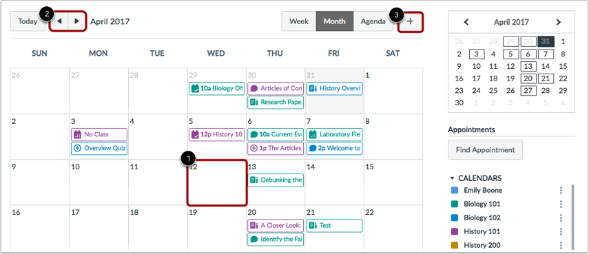 how to add events to an apple calendar