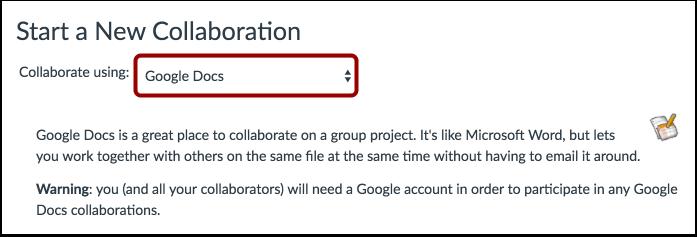 Collaborate Using Google Docs