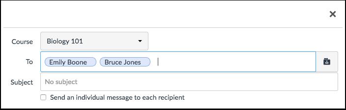 Remove Recipient Name