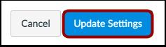 Update Settings