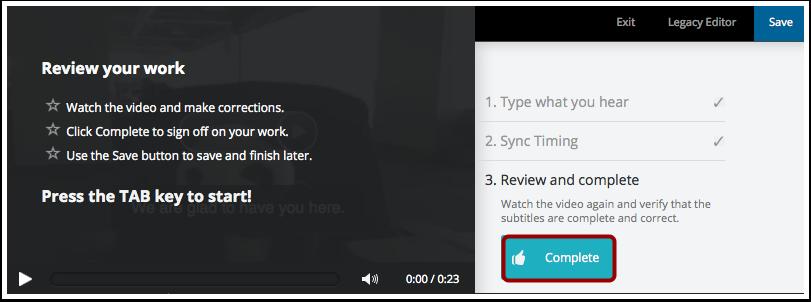 Complete Subtitles