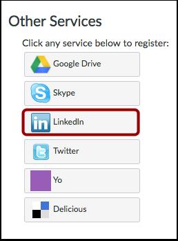 Register LinkedIn