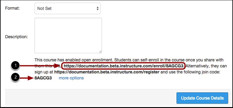 View Self-Enrollment Details