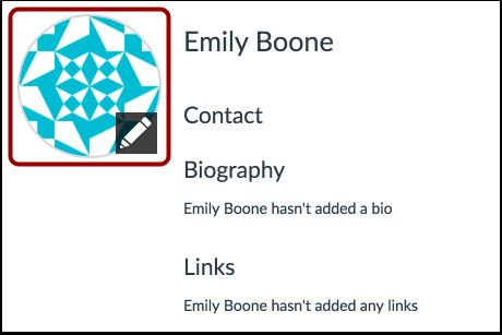 Edit Profile Picture