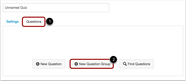 Add New Question Group