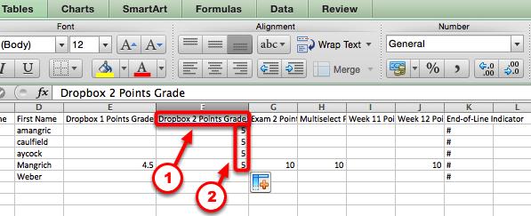 Step #7 (Optional - Adding a new Grade Item)