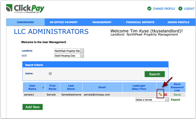 How to Add multiple LLC's to one user account