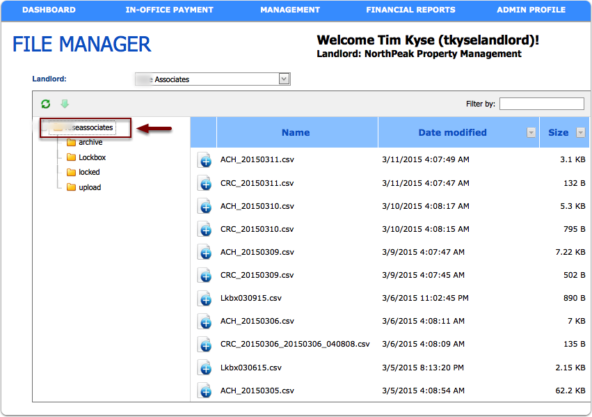 How Does File Manager Work Clickpay Support
