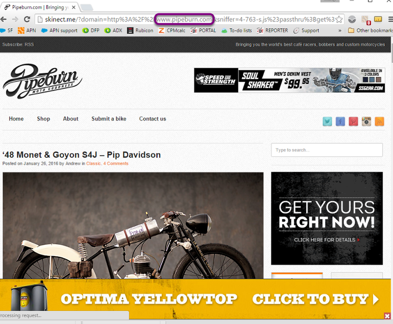 Step 1 - Preview High Impact creative on your site