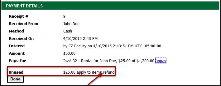 Refund the Receipt