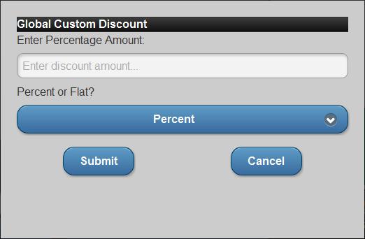 Custom Discount
