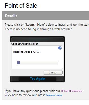 Installing Adobe AIR